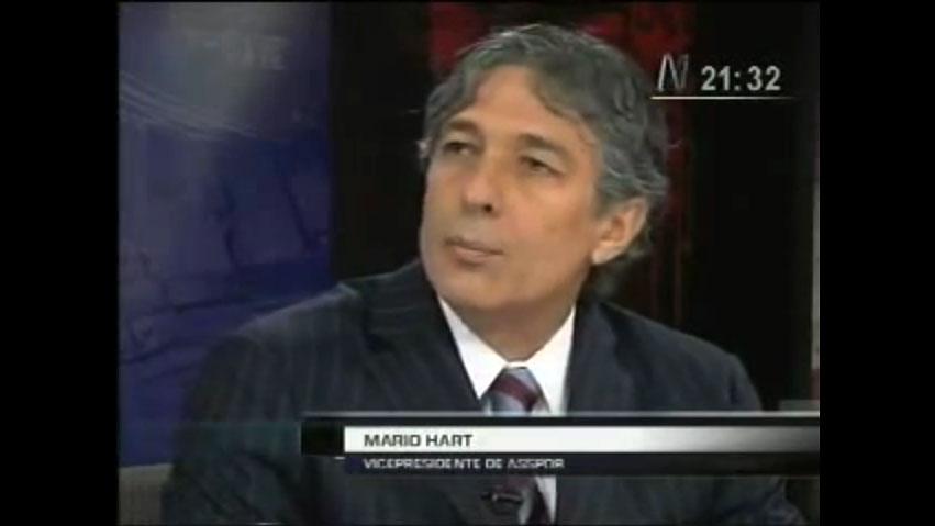MARIO HART (Vicepresidente de ASPPOR)