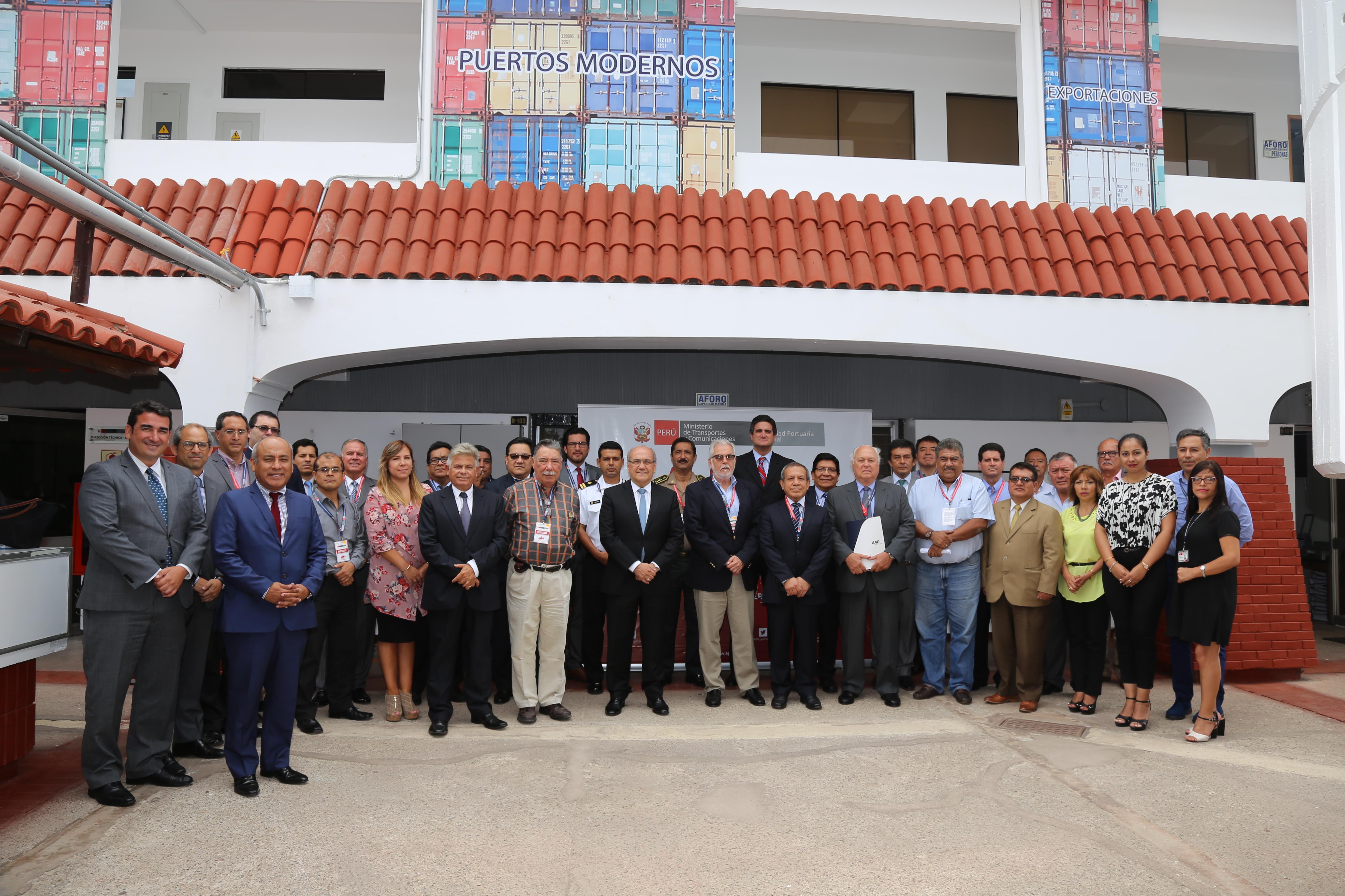 Miembros de la Comunidad Portuaria del Callao firmaron Acta de Reconocimiento y Funcionamiento