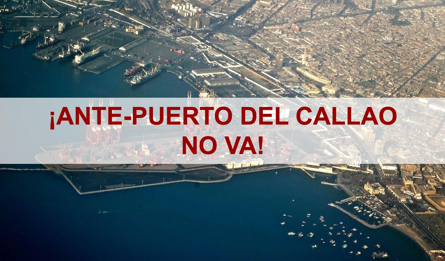 ¿Que significa un Ante-Puerto en el Callao, es necesario?