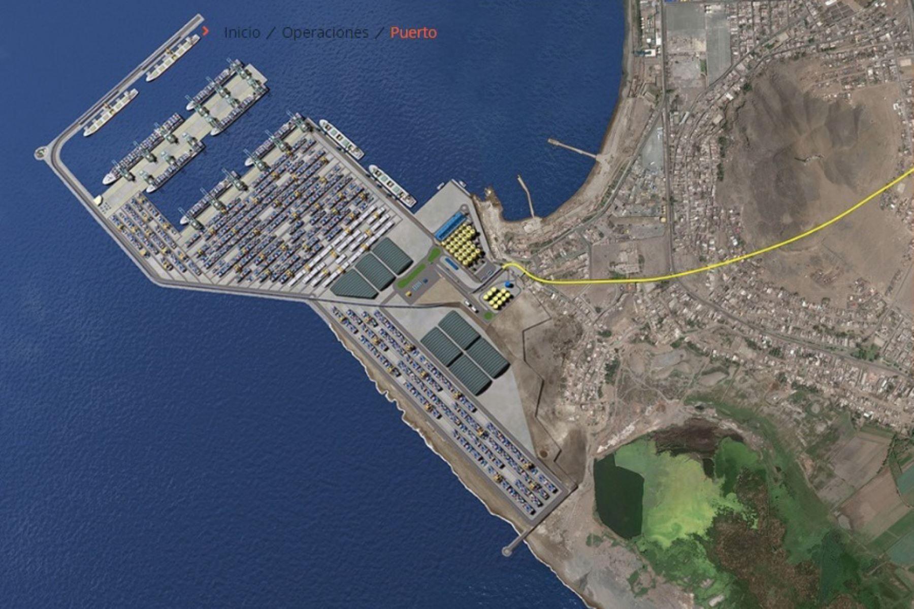 APN estima que a fines de este año iniciarán obras en puerto de Chancay
