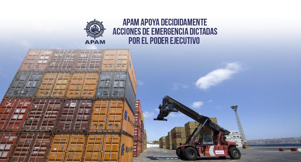 APAM APOYA DECIDIDAMENTE ACCIONES DE EMERGENCIA DICTADAS POR EL PODER EJECUTIVO