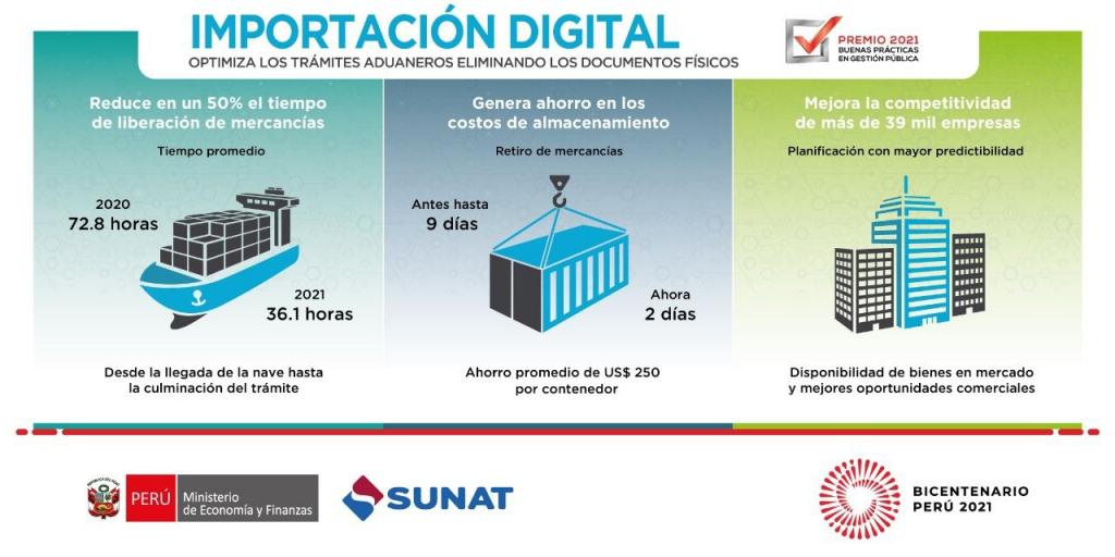 En 50% se reduce el tiempo de liberación de mercancías con servicio de importación digital